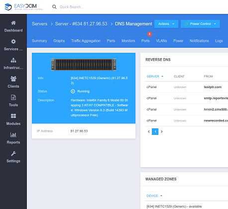 DNS Management For EasyDCIM - Screenshot 11