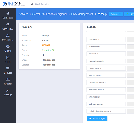 DNS Management For EasyDCIM - Screenshot 4