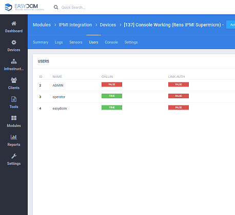 IPMI Integration For EasyDCIM - Screenshot 8