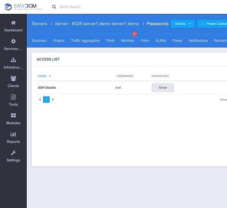 Password Management For EasyDCIM - Screenshot 3