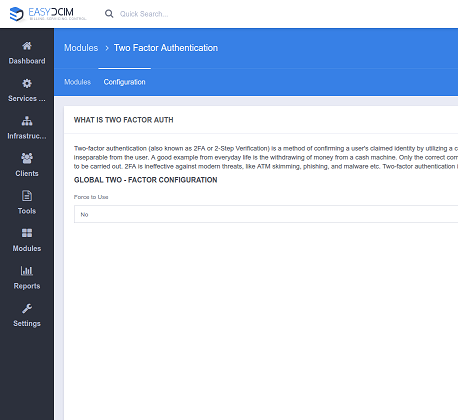 Two-Factor Auth For EasyDCIM - Screenshot 3