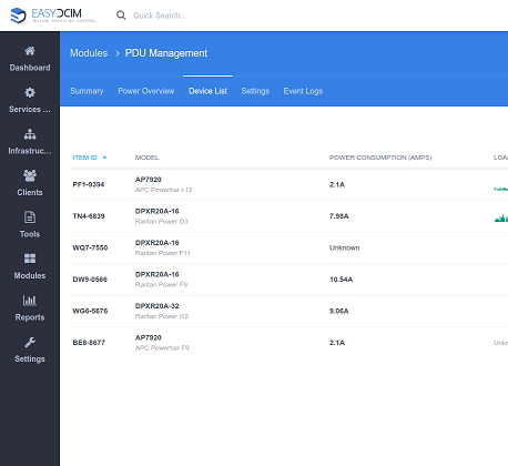 PDU Management For EasyDCIM - Screenshot 2