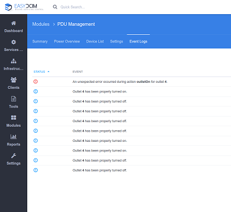 PDU Management For EasyDCIM - Screenshot 8